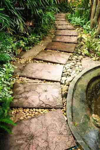 How to make Square Leaf imprint concrete pavers  http://www.ehow.com/how_12208374_make-pavers-leaves.html