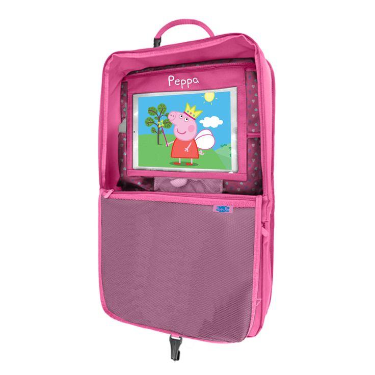 Peppa Pig In-Car Tablet Organiser
