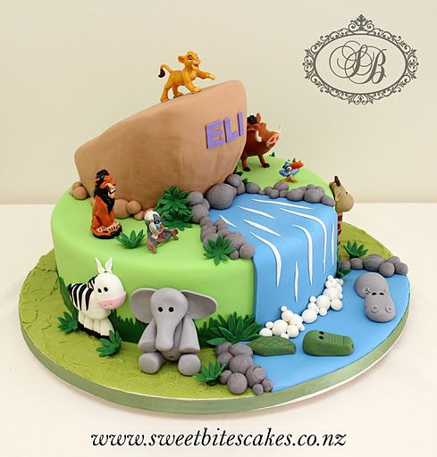 Lion King Cake | Lion King Cake | Flickr - Photo Sharing! So cute!