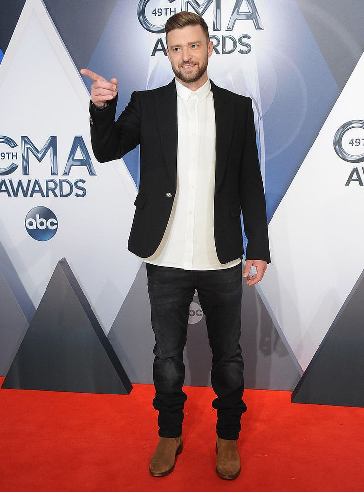 Justin Timberlake at the CMA Awards 2015 | Pictures | POPSUGAR Celebrity