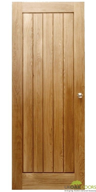 Mexicano Contemporary Solid Oak Door
