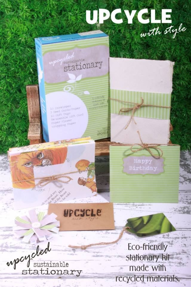 Eco-friendly Stationary Kit made from recycled materials