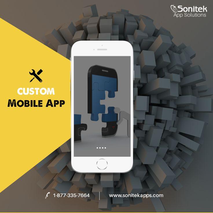 The Custom Mobile App Development Experts! #mobileapps #MobileAdvertising #AppsforGood  Call Us -  1-877-335-7664