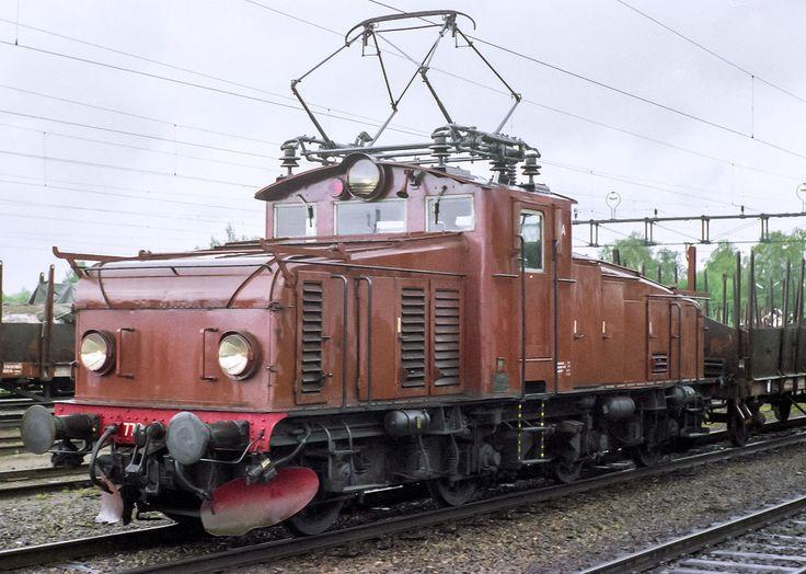 Bild: SJ Hg 770 i Sandviken 1986
