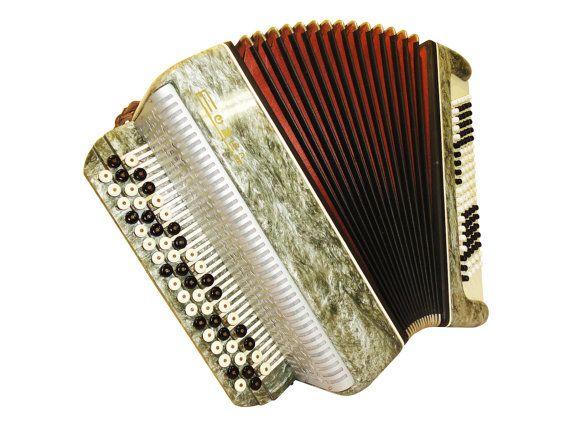 Russian Timbre, 100 Bass, Button Bayan, Accordion Instrument, 593