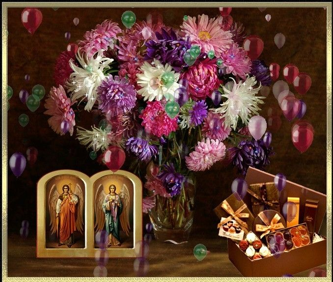 La multi ani binecuvantati de Sfintii Arhangheli Mihail si Gavriil!