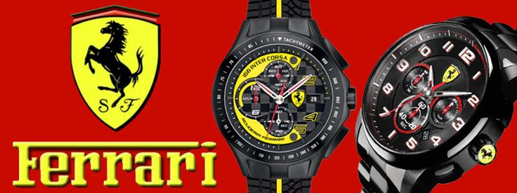 FERRARI Watches Collection! http://www.oroloi.gr/index.php?cPath=644