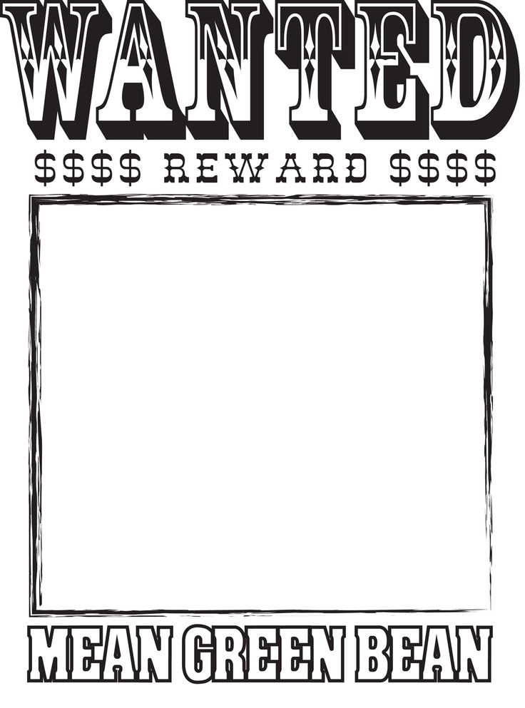 Doc17542481 Free Wanted Poster Template for Kids Wanted – Printable Wanted Poster Template