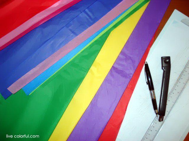 Como hacer papel picado | Live Colorful