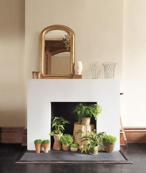 Turn an empty hearth into a visual treat with these five easy ideas.