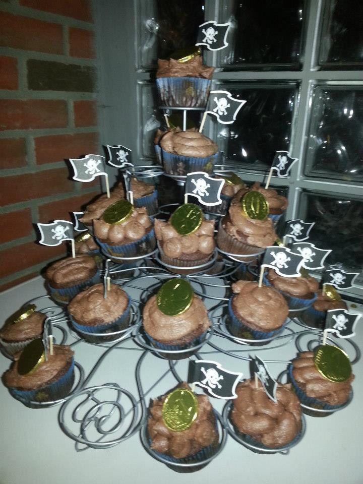 Sjørøver muffins