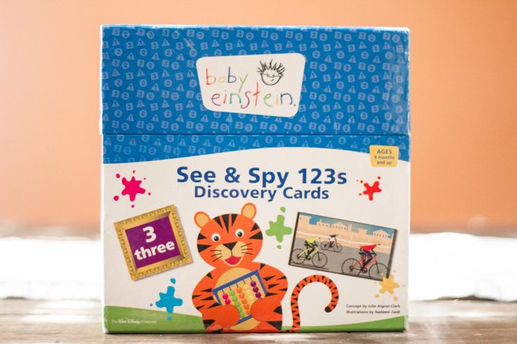 Baby Einstein See and Spy 123s Discovery Cards