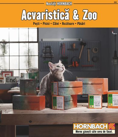 Catalog Hornbach Acvaristica si Zoo Noiembrie 2017! Oferte si recomandari: comoda acvariu Rio 180 dim. 101x41x73 cm 629 lei; penseta curbata