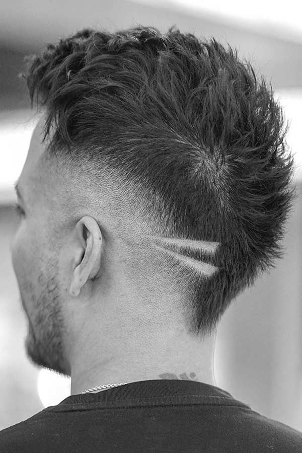 Totally Mind Blowing Mohawk Fade Haircuts For Those Who Dare In 2020 Fade Haircut Faded Hair Mohawk Hairstyles Men