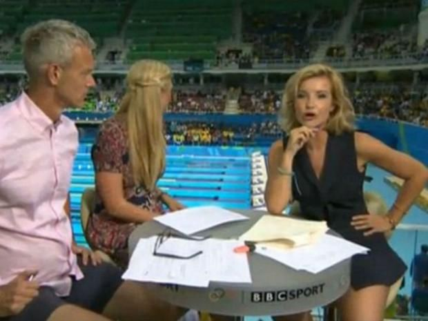 Rio 2016: Viewers defend presenter Helen Skelton after misogynistic scrutiny over her outfit