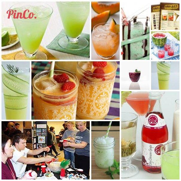 Mocktails! recipes for mocktails on Pinterest