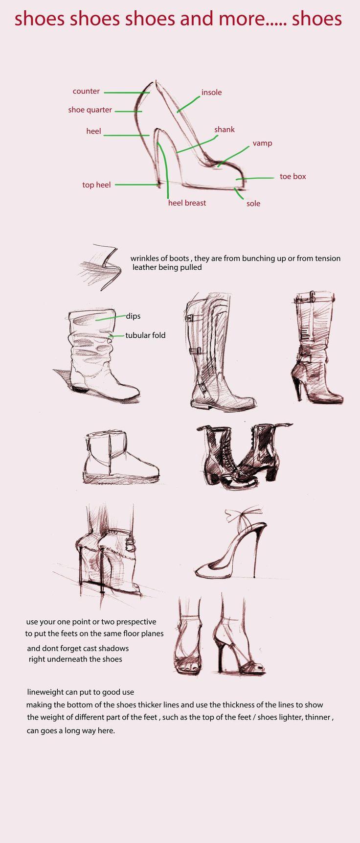 Deviantart: More Like Guide De Lanatomie Canine {2013} Par * Meteorcrash How  To Draw Shoesdrawing