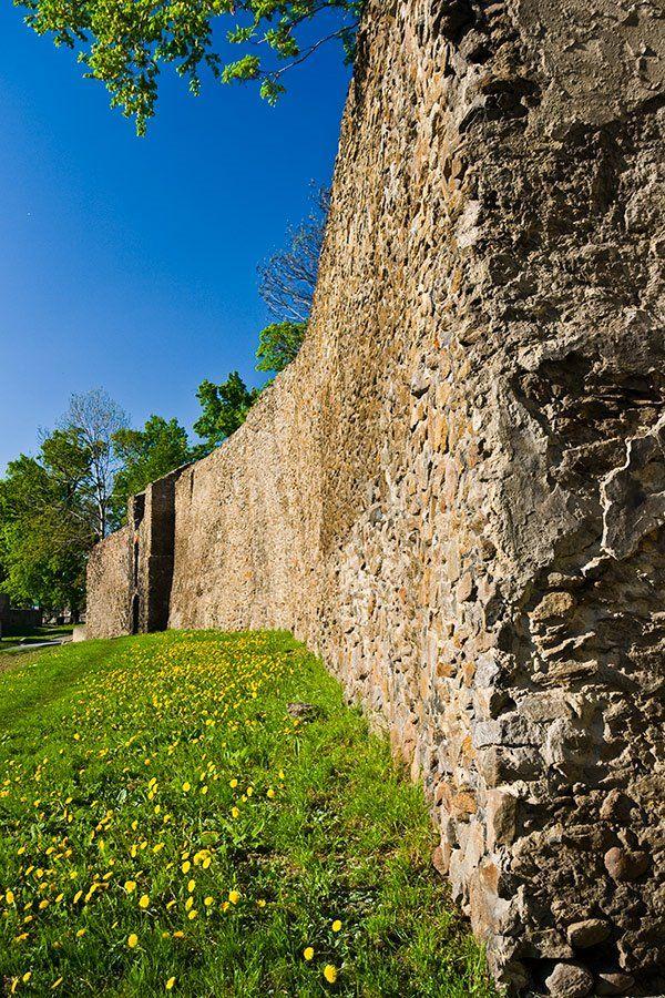 Dzierżoniów. Mury obronne
