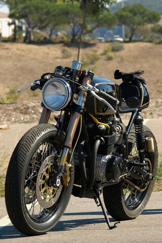 CB750 Cafe - Honda CB750 series makes a good foundation, there are some terrific examples around.