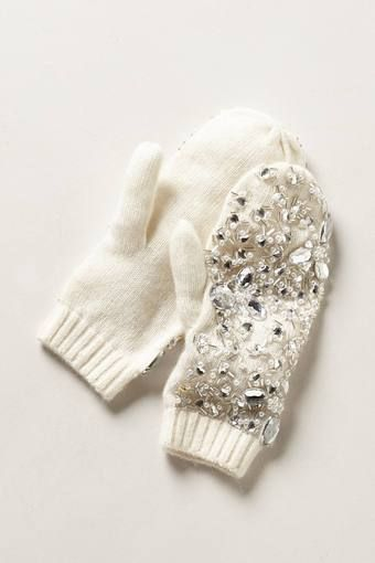 Sparkly mittens! The best of both worlds :) #lulus #holidaywear