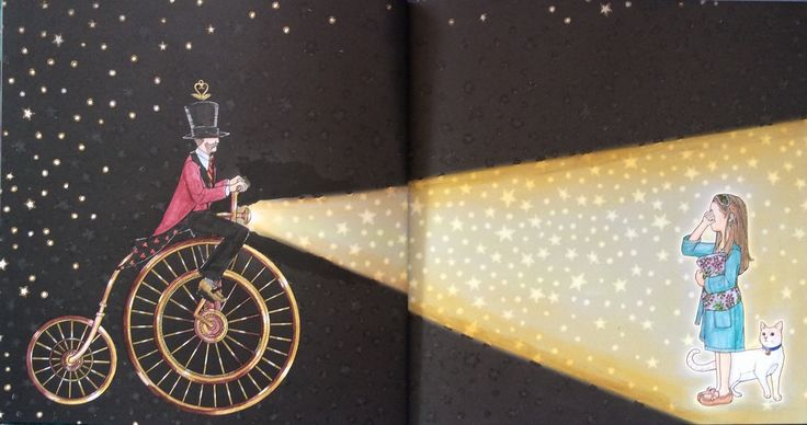 Night Voyage. Daria Song. Coloured by Prue from Colouring+ with Prue