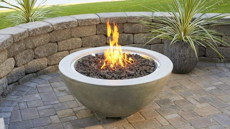 Buy Cove Bowl 30 Gas Fire Pit For Sale | Real Stone