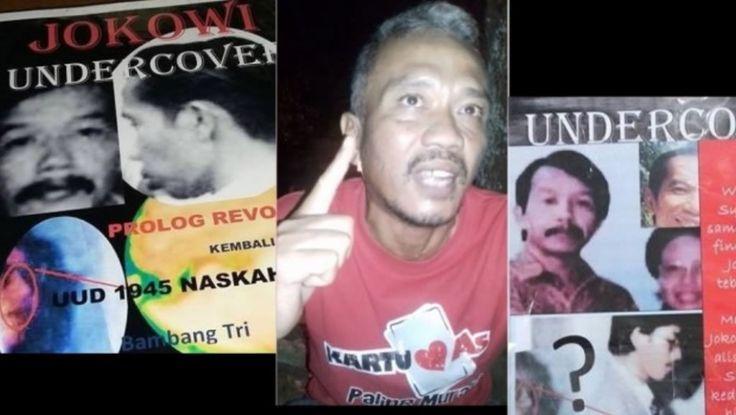 Latar Belakang Bambang Tri Mulyono Si Penulis Buku Jokowi Undercover