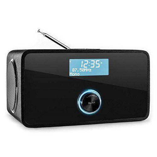 Auna DABStep - Radio numérique avec tuner DAB/DAB+, Bluetooth, FM (fonction alarme, entrée AUX, télécommande) - noir Auna http://www.amazon.fr/dp/B00NIYKF3C/ref=cm_sw_r_pi_dp_PFUtwb1FNW7RE