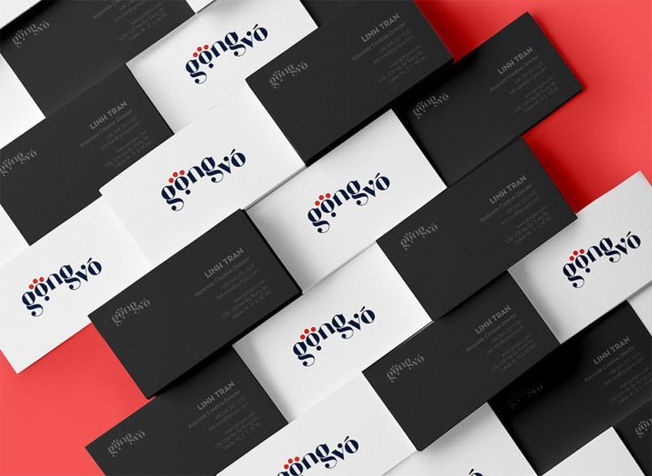 Gong Vo Branding by Tran Linh Tam | Inspiration Grid | Design Inspiration