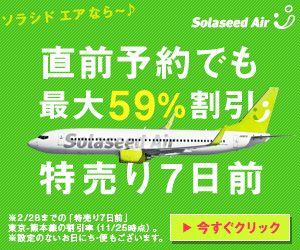 Solaseed Air ソラシドエア