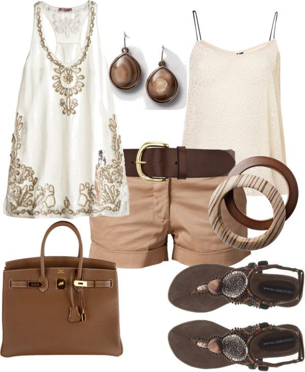 """""""Simple Summer Outfit"""" by wcatterton on Polyvore"""