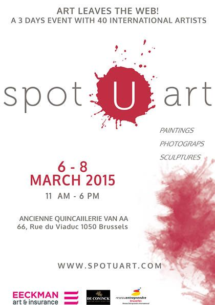 40 European based #artists will be presented from the 6th to the 8th of March 2015 inside the Ancienne Quincaillerie van AA in #Brussels ! #Paintings, #photographs and #contemporary #sculptures will be exhibited for three days and will go under the expert eye of a jury of art critics and collectors.   Exhibition Date & Time: From 6th March to 8th March 2015 11 am - 6 pm.  Brunch on Sunday 8 th March  #Exhibition #Bruxelles #Ixelles #contemporaryart #modernart #Art #ArtGallery #culture…