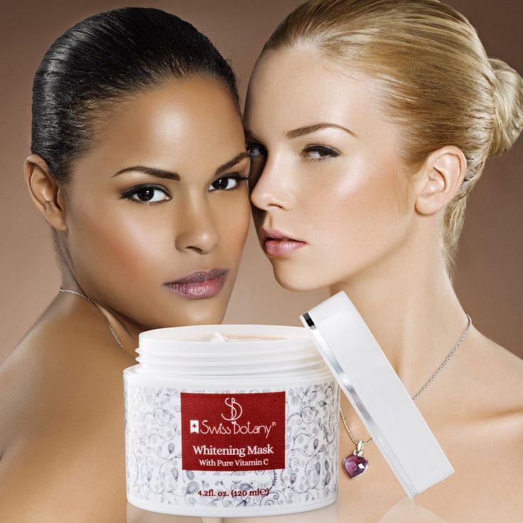 Whitening Cream   Pure Vitamin C Skin Lightening mask - swissbotany
