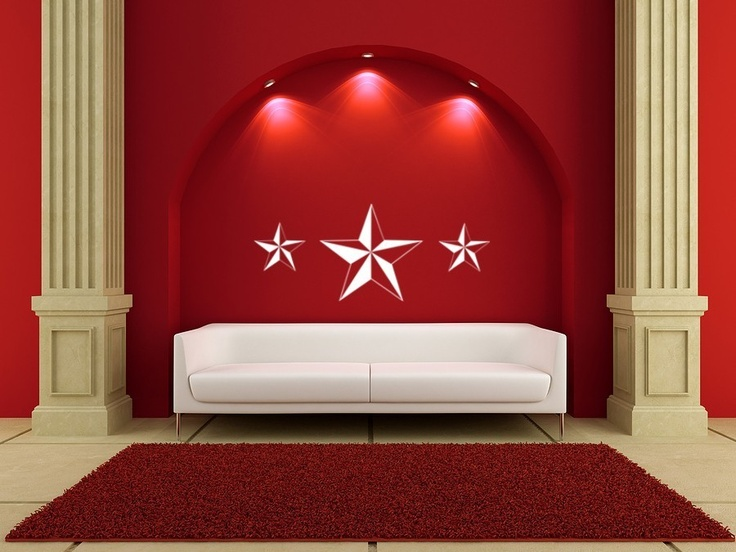 17 best images about nautical stars on pinterest vinyl. Black Bedroom Furniture Sets. Home Design Ideas