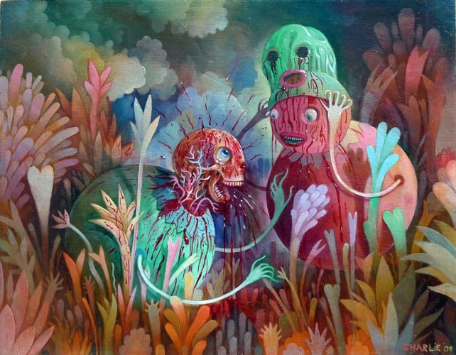Totally Insane, Candy Coated Paintings of Charlie Immer