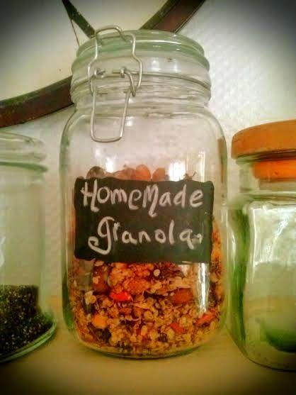 It's me BUS...: Homemade Granola