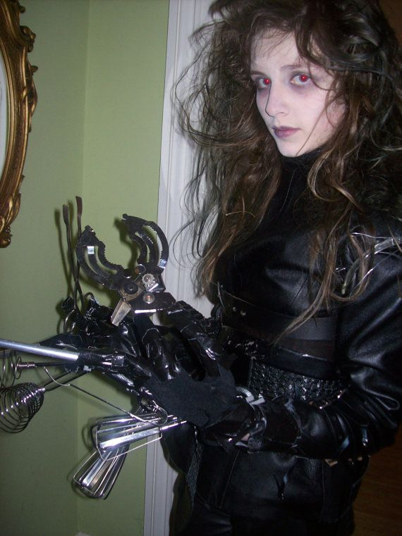 Edward Scissorhands Costume by TheCheshiresHat on Etsy, $1000.00