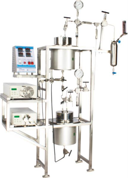 Some of the features of Supercritical Fluid Extraction: 1. Supercritical Fluid Extraction (SFE) system uses supercritical carbondioxide (CO2) as solvent instead of any organic solvent. 2.100 ml to 5 ltrs. volume 3. Pressures upto 350 bar & temperatures upto 200°C 4. Available in Material of Constructions (MOC) SS-316 For more details please visit http://www.amarequip.com/pr…/supercritical-fluid-extraction/