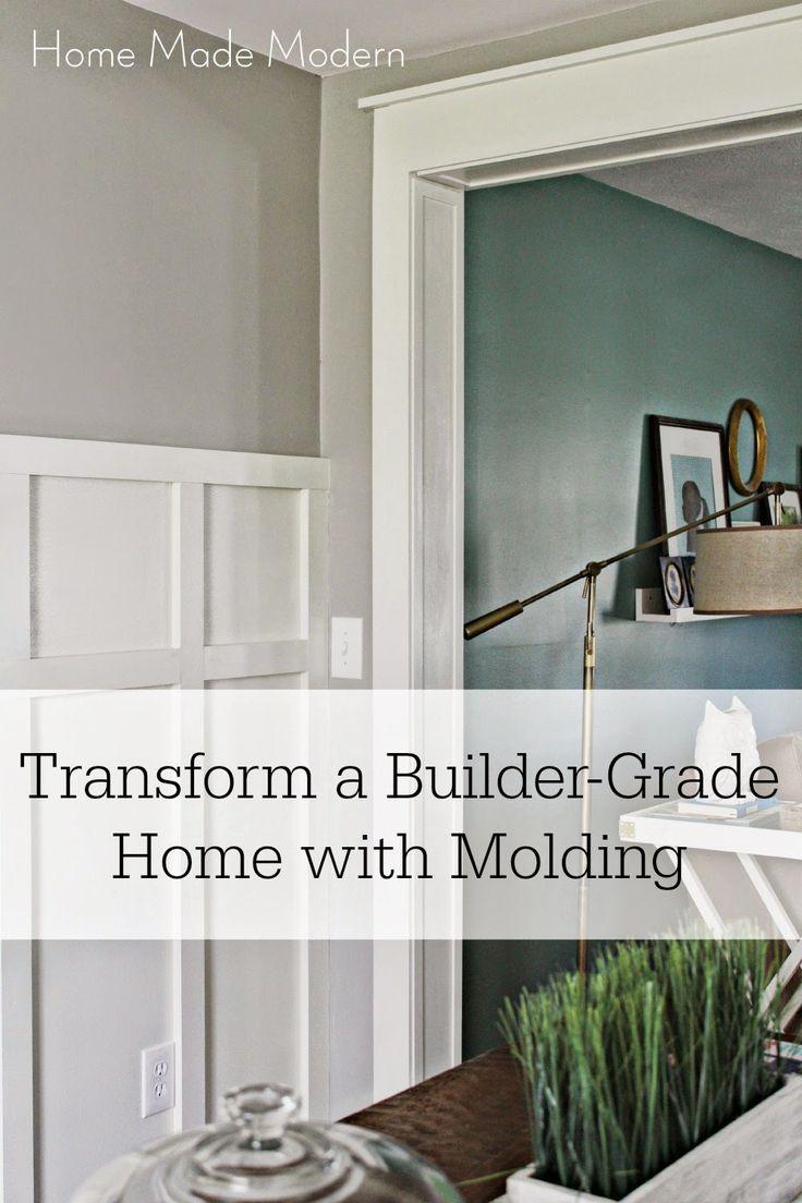 Home Made Modern: Transform a Builder-Grade Home with Trim