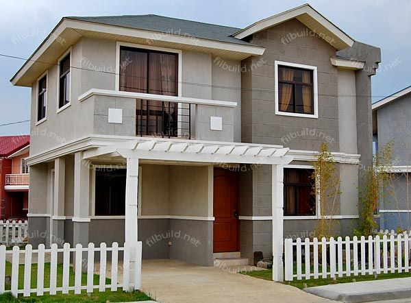 113 best images about house plan on pinterest the for Simple modern house in the philippines