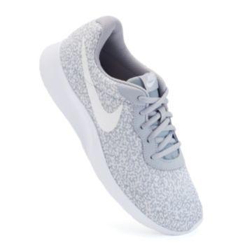 Nike Tanjun Women S Camo Print Athletic Shoes
