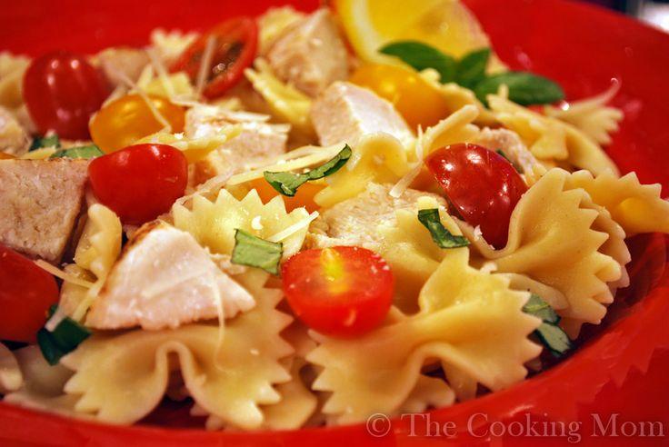Lemon Chicken Pasta Salad | The Cooking Mom