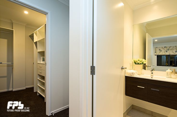Walk-in wardrobe and ensuite. Come visit the showhome at Lot 9 - 2 Tuatini Place , Long Bay , Long Bay, Auckland Hours: Wednesday - Sunday 12pm - 4pm