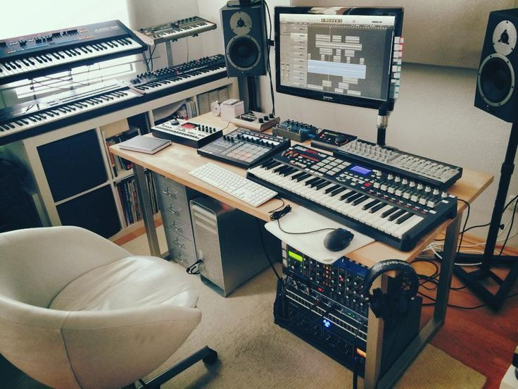 home recording studio | Tumblr: