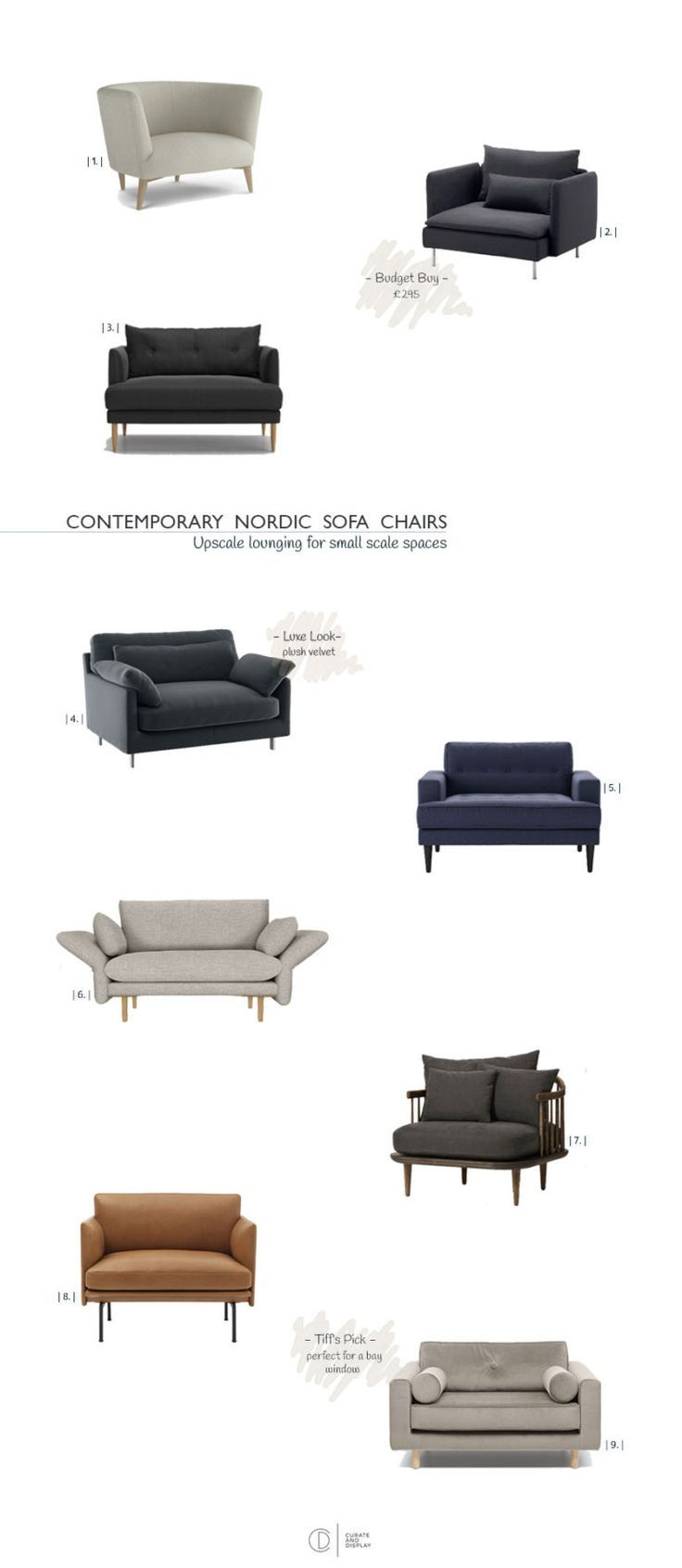 The Nordic Style Sofa Chair Edit From 300 Home Dec