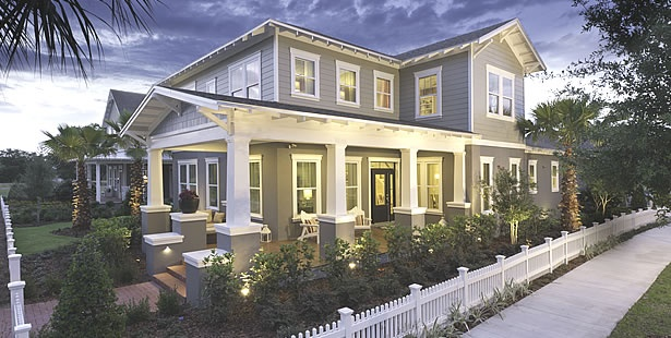 Dream Home of the Day - June 8, 2012 - Gorgeous Traditional homes on the shores of Lake Apopka -Oakland Park Grand Oak Series in Winter Garden.