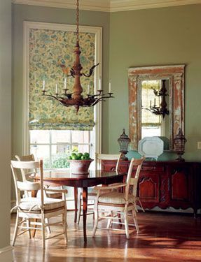 french country cottage - Country Cottage Dining Room Ideas