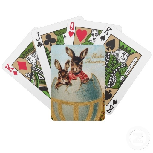 Vintage easter green bicycle playing cards easter gifts vintage easter green bicycle playing cards easter giftshousehold decor pinterest bicycle playing cards vintage easter and easter negle Choice Image