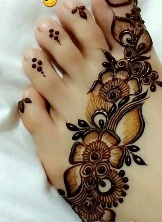 New Style Foot Mehndi Design 2018 حنه Pinterest Mehndi Designs