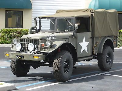 Military Vehicles For Sale » Blog Archive » Dodge : Other Dodge Classic 4×4 Off Road Mud Muscle M37 Military Army Monster Rod Lifted For Sale : $10000.00
